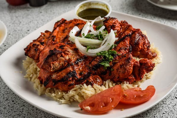 Tandoori Chicken Plate