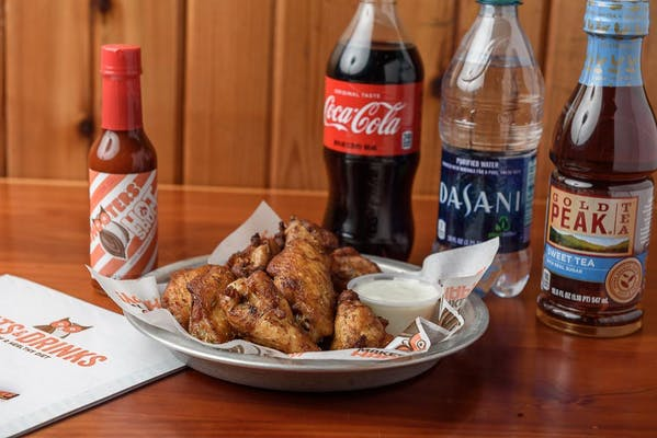 (10 pc.) Smoked Wings Coca-Cola Combo