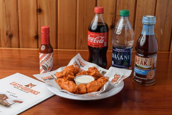 (10 pc.) Boneless Wings Coca-Cola Combo