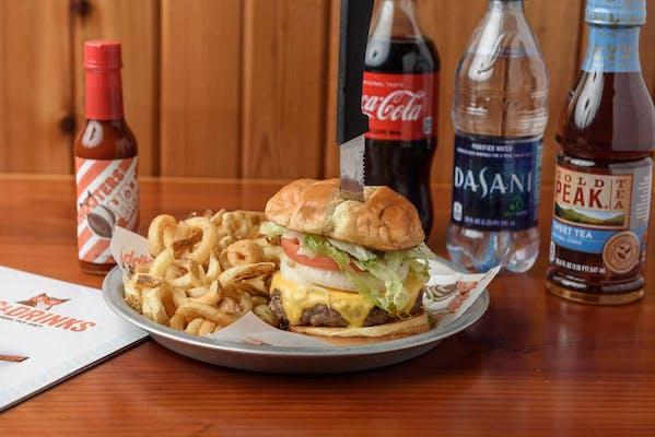 Burger Coca-Cola Combo