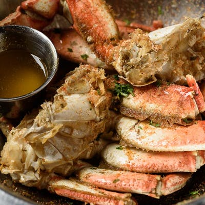 Boiled Dungeness Crab
