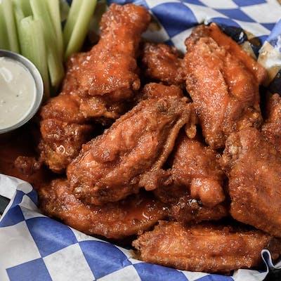Sauce-Spun Wings