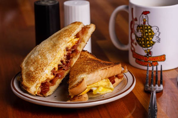 Egg, Cheese & Protein Sandwich