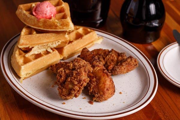Chicken Tenders & Waffle