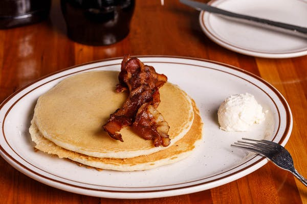 Kid's (2) Pancakes with Bacon