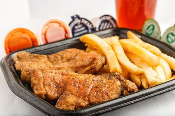 (2 pc.) Pork Chops & Fries