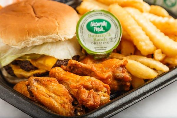 Cheeseburger & Wings