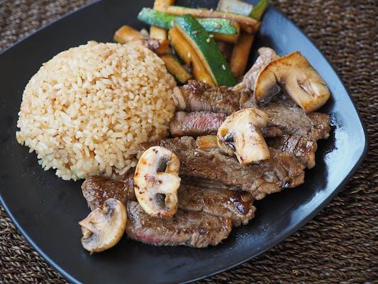 Hibachi Steak Entrée