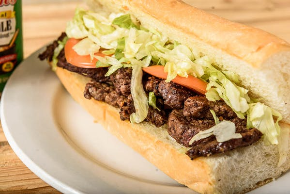 Sirloin Steak Strips Sandwich