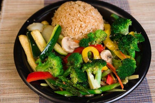 Hibachi Vegetables Entrée