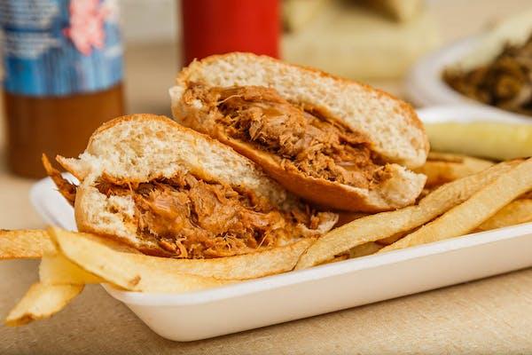 BBQ Pig Sandwich