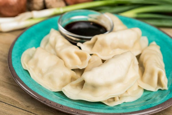 Fried or Steamed Chicken Dumplings