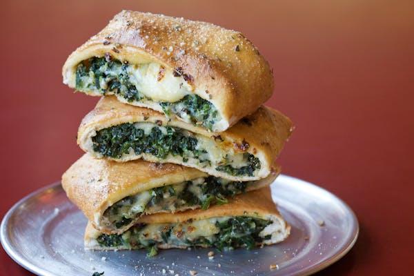 Garlic Spinach Stromboli