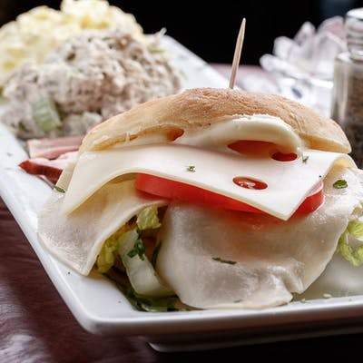 Large Deli Style Sandwich