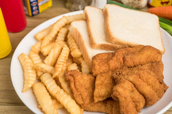 28. Fish Sandwich & Fries