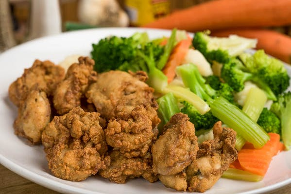 D. (12 pc.) Fried Oysters
