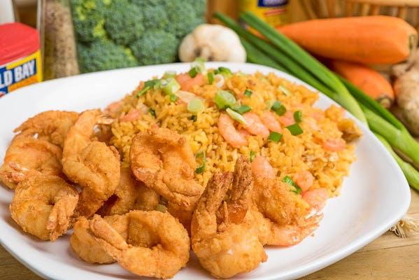 Shrimp & Fried Rice Basket