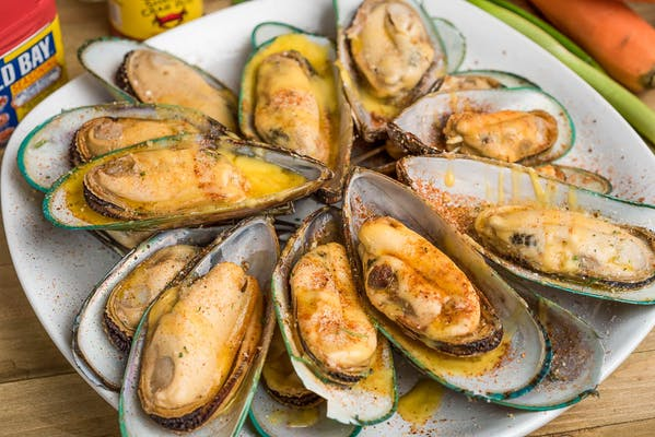 (2 lb.) Boiled Mussel Tray