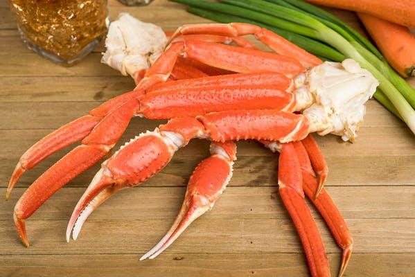 (1 lb.) Boiled Snow Crab Leg Tray
