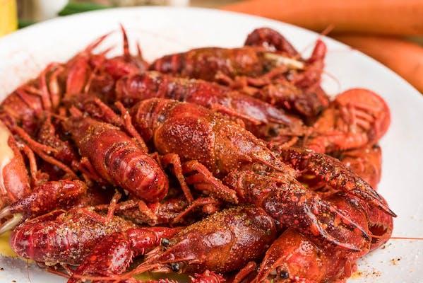(1 lb.) Boiled Crawfish Tray