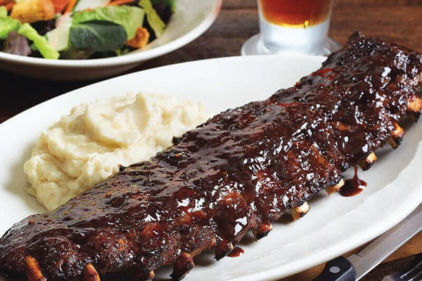 Full Rack Baby Back Pork Ribs