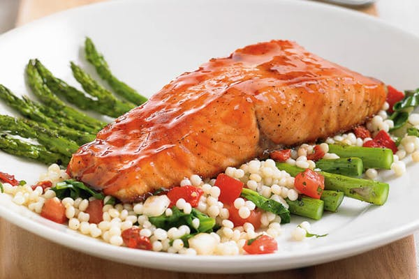Cherry Chipotle Glazed Salmon*