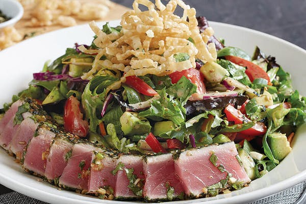 Seared Ahi Salad*