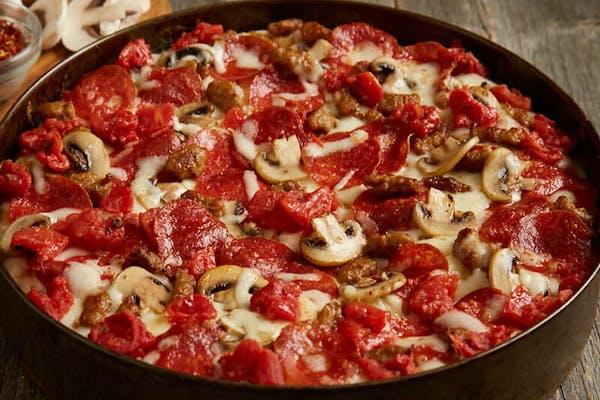 BJ's Classic Combo Deep-Dish Pizza