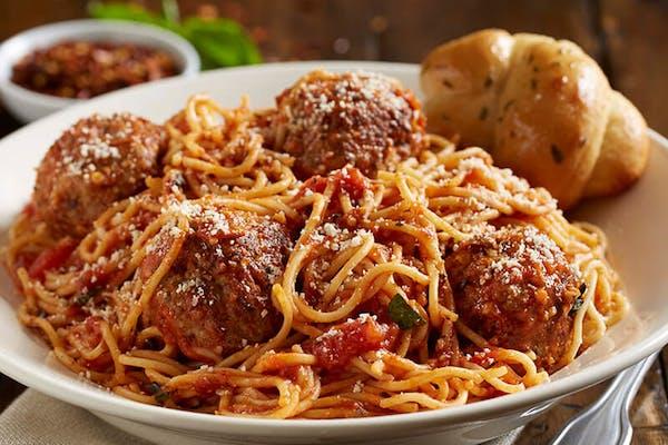 Jumbo Spaghetti & Meatballs