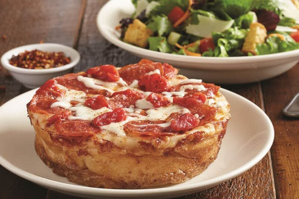 Kid's Mini Deep-Dish Pizza