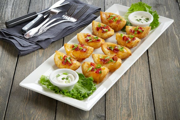 Crisp Potato Skins Platter