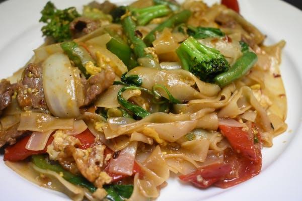 Pad Kee Mow Drunken Noodles