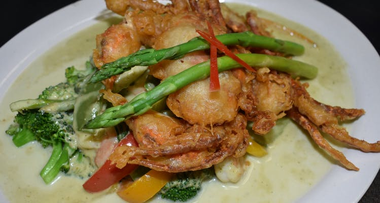 Soft-Shell Crab Special