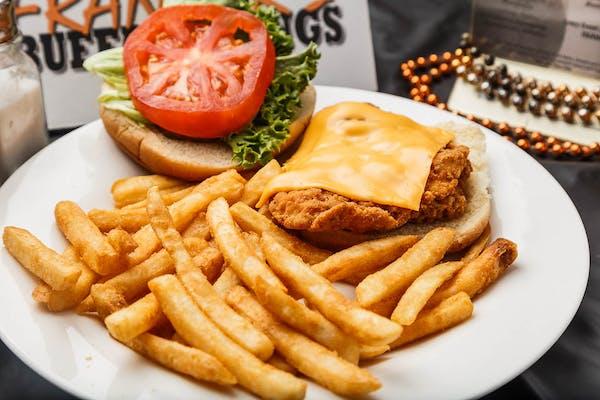 Fried Chicken Sandwich & Fries