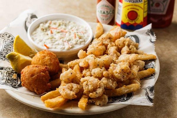 Dinner (#3) Popcorn Shrimp