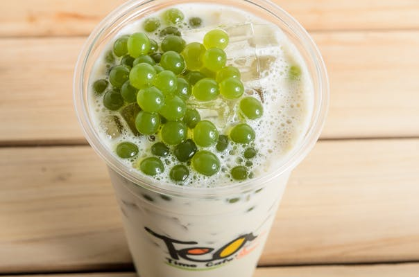 Honeydew Milk Tea
