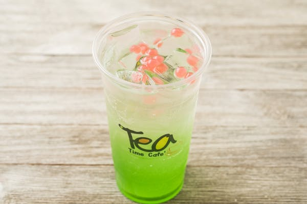 Green Apple Italian Soda