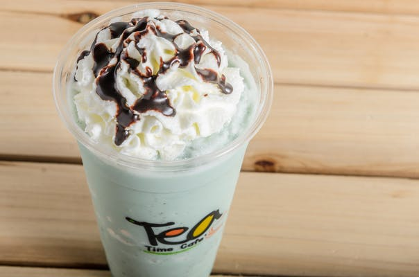 Mint Chocolate Milk Shake