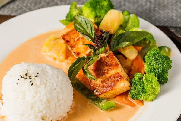 Panang Grilled Salmon