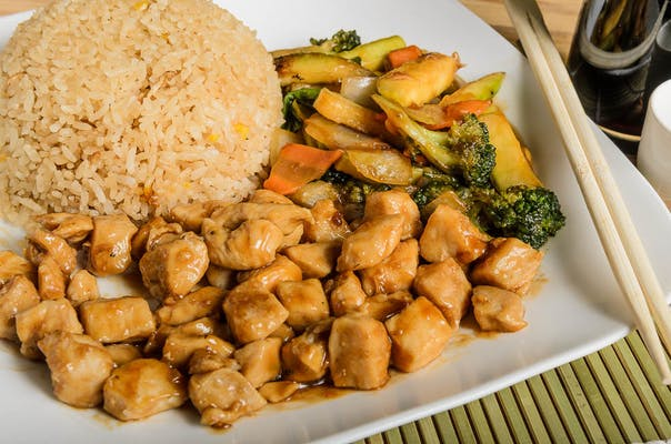 Chicken Hibachi (Lunch)