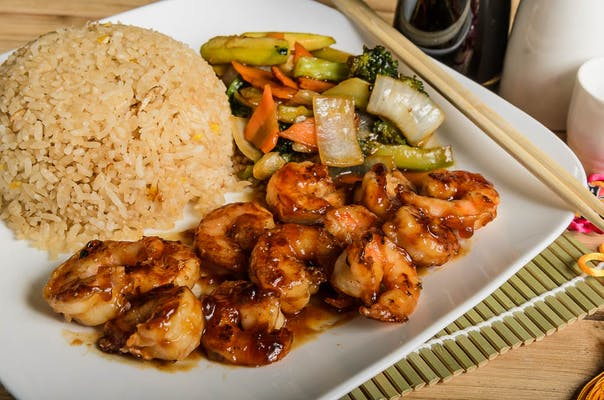 Shrimp Hibachi (Lunch)