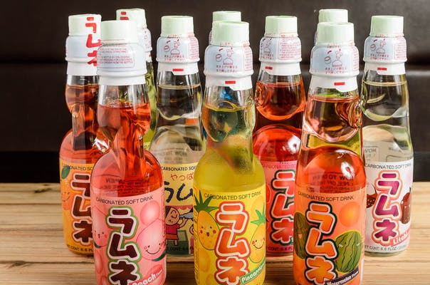 31. Japanese Bottled Soda