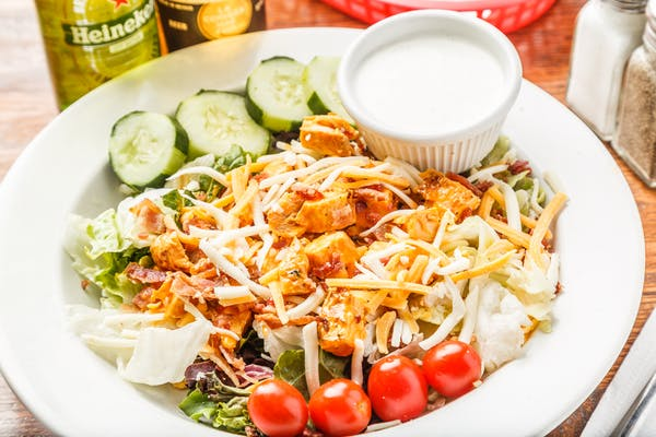 The Big Buffalo Chicken Salad
