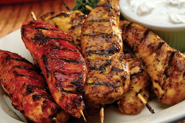 Chargrilled Chicken Feathers