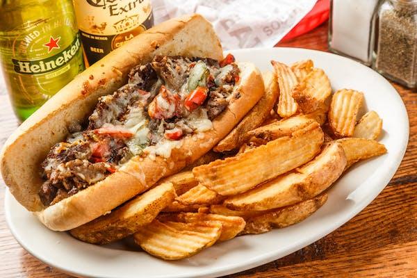 Fabulous Philly Hoagie Sandwich