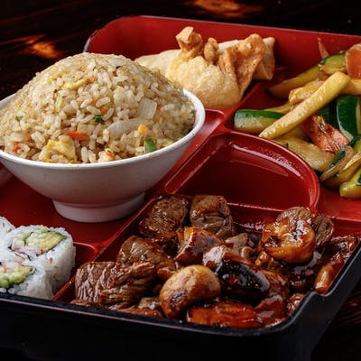 Beef Teriyaki Bento Box (Lunch)