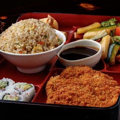 Ton (Pork) Katsu Bento Box (Lunch)