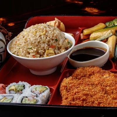Chicken Katsu Bento Box (Lunch)