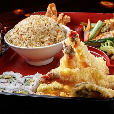 Shrimp Tempura Bento Box (Lunch)