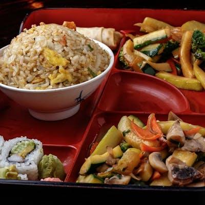 Sautéed Vegetable Bento Box (Lunch)